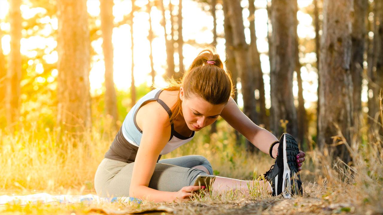 Girl Exercise